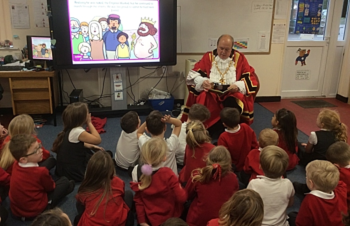 mystery reader - david marren mayor at shavington