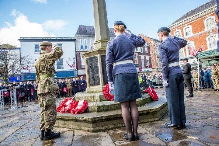 Armistice centenary in Nantwich 6