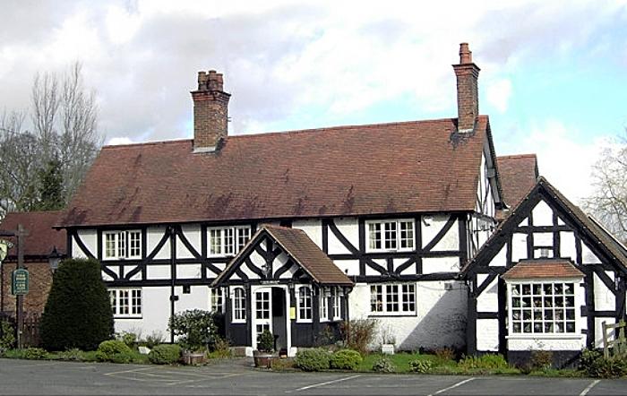 Nags Head pub in Haughton - by john swan