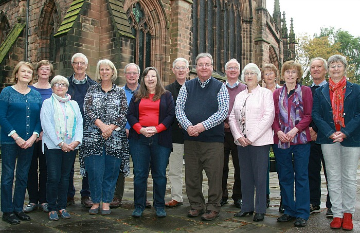 nantwich choral society members