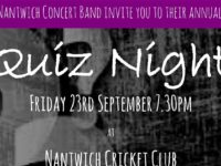 Nantwich Concert Band stage fund-raising quiz night