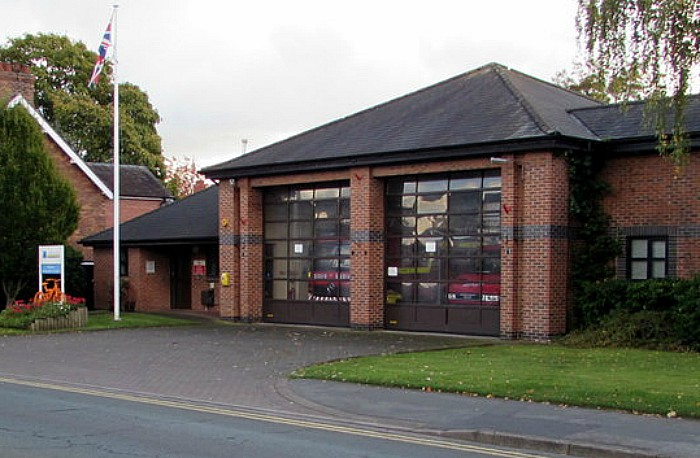 rapid response unit - nantwich fire station on beam street, pic by Jaggery under creative commons licence