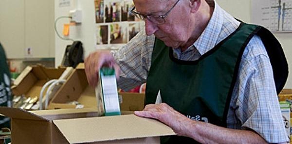 nantwich foodbank - food parcels