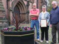 Nantwich scoops Gold Award from Britain in Bloom judges
