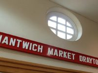 Rail junction sign returns to Nantwich after almost 50-year absence