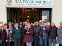 Nantwich Market traders in running to be UK's number one!