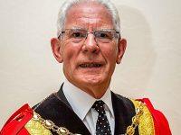 Farewell message as Nantwich Mayor Arthur Moran hands over robes