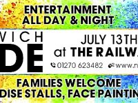 Nantwich Pride event to be staged at Railway Hotel