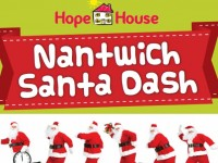 Nantwich Santa Dash to raise funds for Hope House Hospice