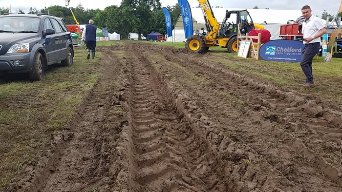 nantwich show cancelled by organisers due to ground conditions
