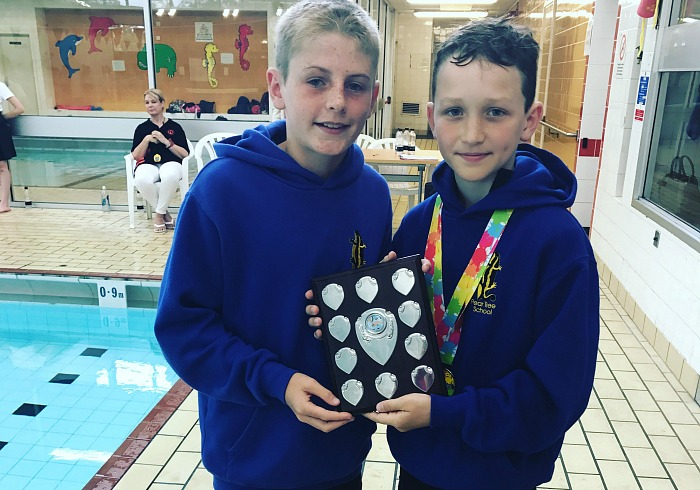 nantwich swimming gala winners pear tree school