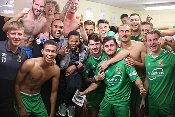 nantwich town FA cup win over King's Lynn