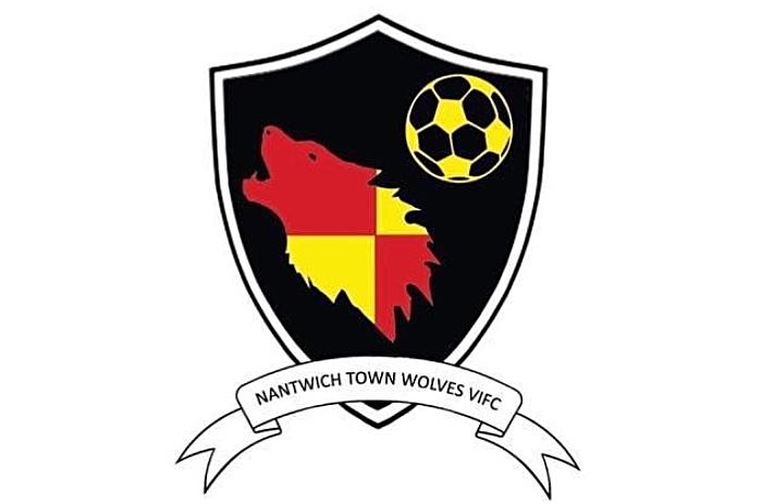 nantwich town wolves club logo