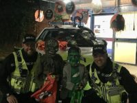 Residents and Nantwich Police enter into Halloween spirit!