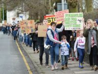 Hundreds across South Cheshire join protest march over funding formula