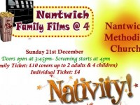 "Nantwich Family Films @4 to screen ""Nativity"" movie"