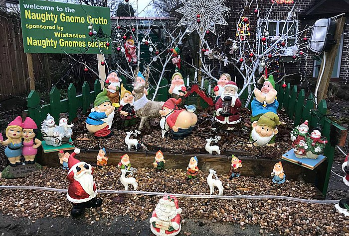 naughty gnome grotto in wistaston 1