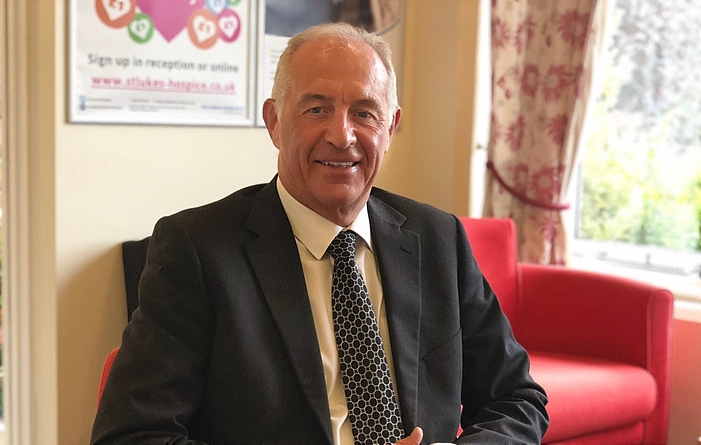 neil wright, CEO of St Luke's Hospice