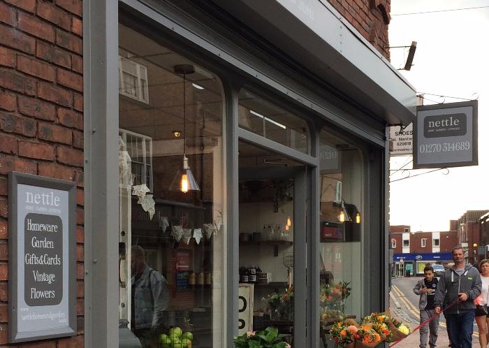 nettle store exterior shot