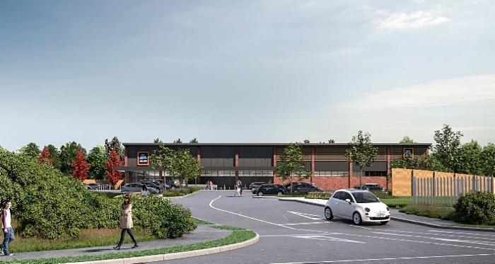 new Aldi store in Crewe
