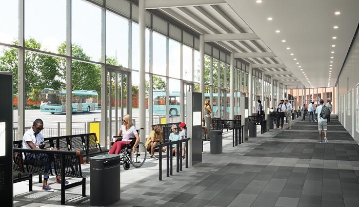 new bus station visual royal arcade plans