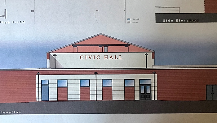 new extension to civic hall