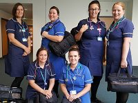 Fundraisers provide Leighton Hospital district nurses with new equipment