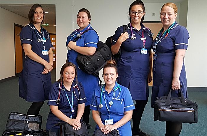 new kit for leighton hospital district nurses