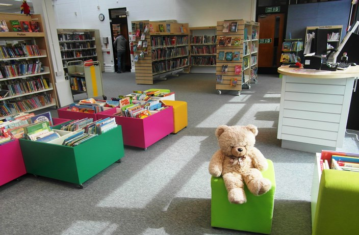 new look nantwich library