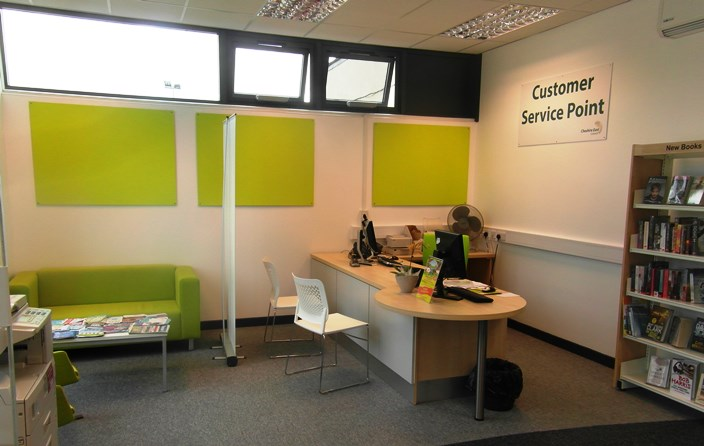 new nantwich library interior