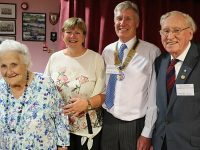 34th President of Rotary of Crewe and Nantwich Weaver unveiled