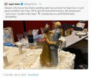 Nigel Slater tweet