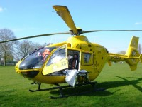 Nantwich youngster flown to hospital after scooter fall