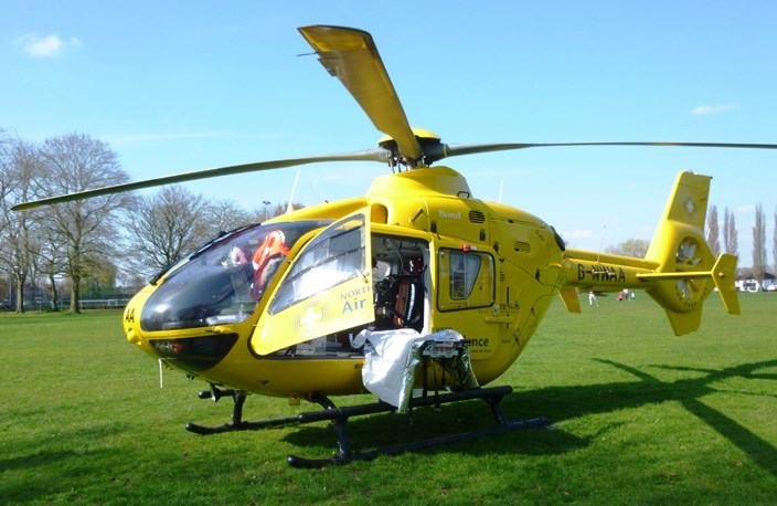 north west air ambulance in Nantwich