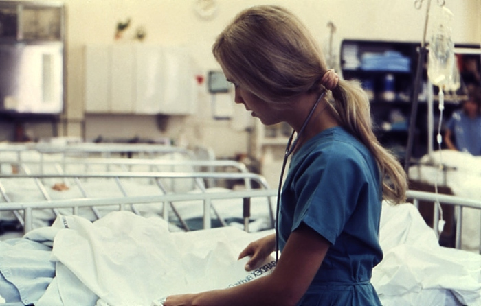 nurse at work - creative commons image from Public Health Image Library