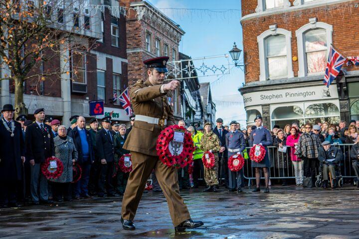 Armistice centenary in Nantwich 5