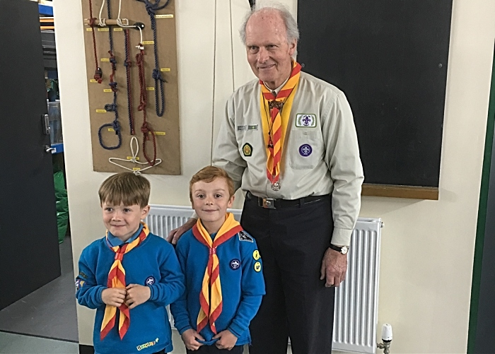 old and young - wistaston scouts