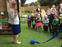Nantwich Primary Academy celebrates new Early Years outdoor facility