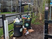 Plea to Nantwich residents to take litter home as bins left overflowing