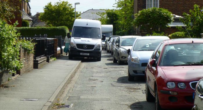 parking and driving on South Crofts