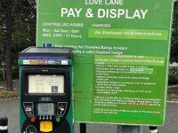 Love Lane parking meter - no sign