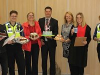 Stapeley school stages Macmillan World's Biggest Coffee Morning