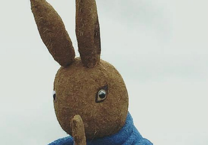 peter rabbit new sculpture