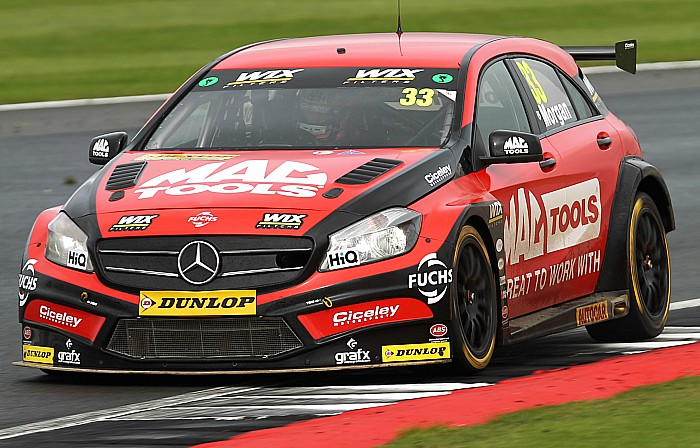 pic of Ciceley Motorsport Mercedes from Jakob Ebrey Photography