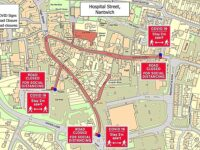 Pillory Street and Hospital Street also to close in Nantwich