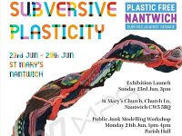 Plastic Free Nantwich exhibition to open at St Mary's Church