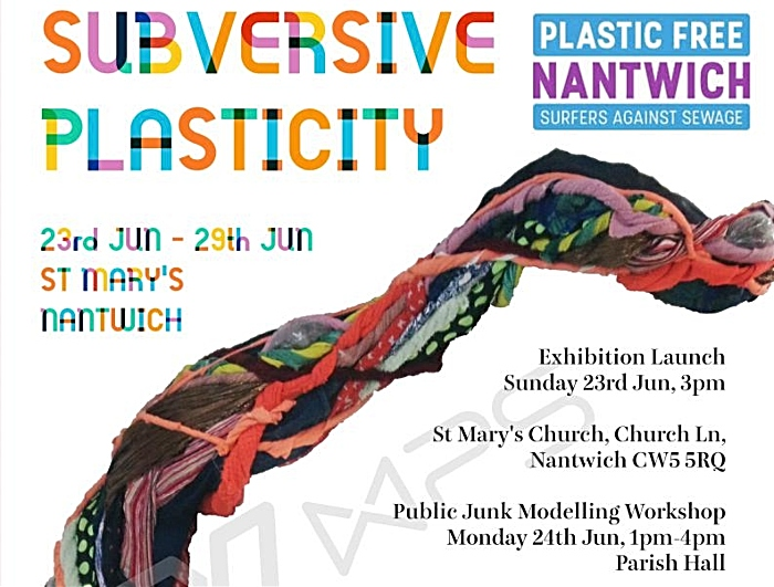 plastic free nantwich exhibition