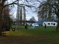 Nantwich residents call on council help to ban travellers from Barony Park