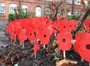 poppies-outside-malbank-school-in-nantwich