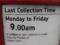 Royal Mail defends collection time changes in Nantwich